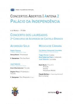 Programa Concerto Antena 2